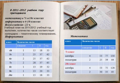 Таблица-отчет